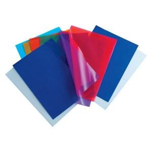 Set mape de protectie din plastic cu doua deschideri Noki, 100 bucati
