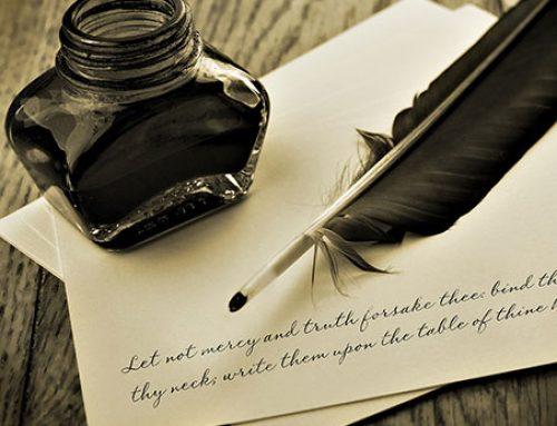 Stiloul – origini