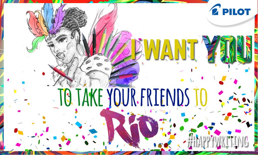 Câștigă o petrecere nebună la RIO!