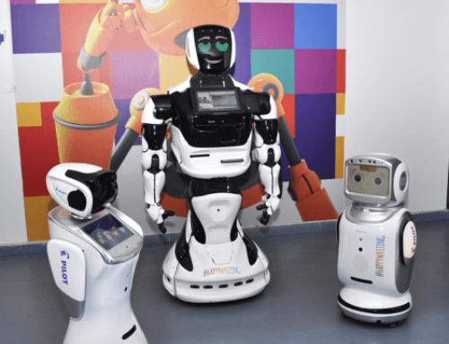 Pilot aduce roboți în marile magazine din București și din țară